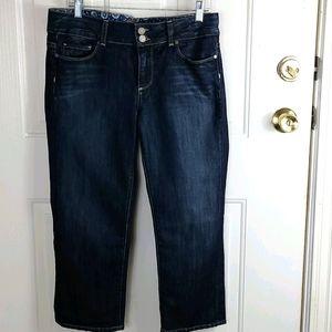 Paige Hidden Hills Capri Jeans